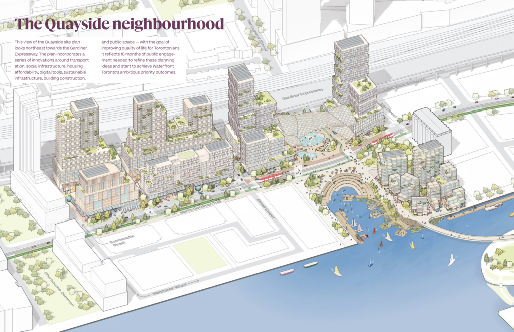 Quayside Smart City by Sidewalk Labs