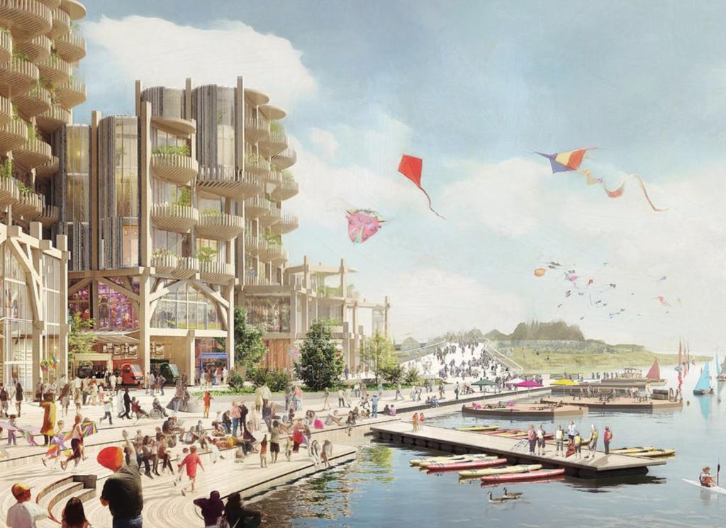 Timeline for Smart City by Sidewalk Labs